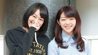 国民的美少女グランプリの女優・吉本実憂(21)と、AKB48の峯岸みなみ(...