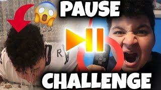 😱PAUSE CHALLENGE mit BRUDER (ESKALIERT!) | Can Wick