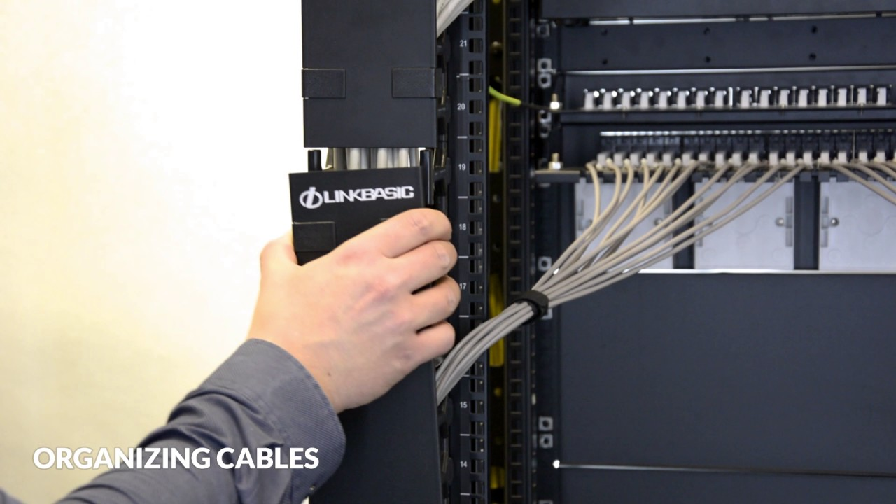 Cable Management Solutions For 19 Rack Cabinets Youtube Structured Wiring Panel Wall