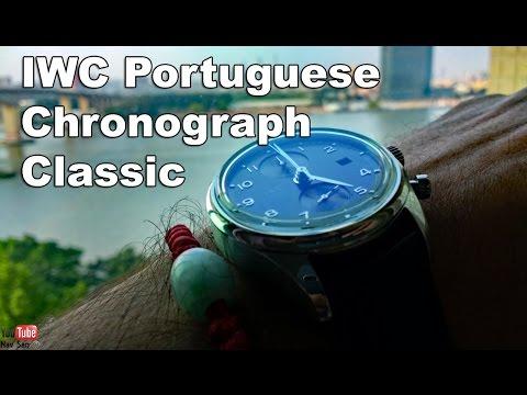 Buying a IWC Portuguese Chronograph Classic in Hong Kong