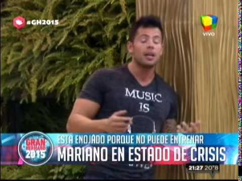 """""""Gran Hermano 2015"""": La increíble """"crisis"""" de Mariano que cambió la rutina del programa"""