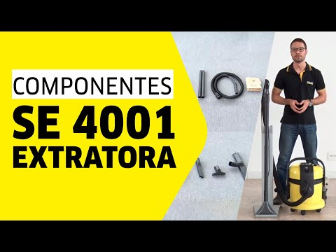 extratora k rcher se 4001 componentes youtube. Black Bedroom Furniture Sets. Home Design Ideas