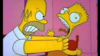 Bart getting choked thumbnail