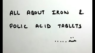 Iron and folic acid tablets | dos and donts | hindi | iron deficiency anemia | pregnancy anemia