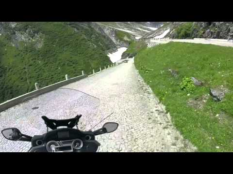 St Gotthard Pass Hairpins of Sorecia Motorcycle Journeys by Don Skinner