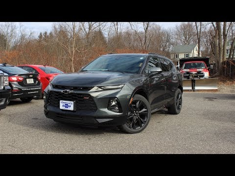 2019 Chevy Blazer RS: In Depth First Person Look