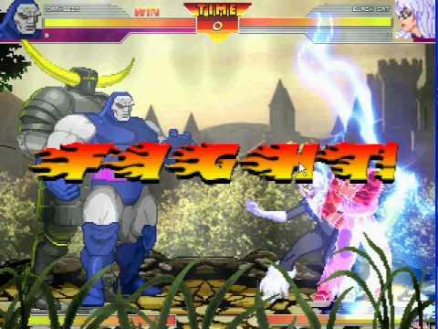 MUGEN: DC Comic's Darksied (me) & Abyss of Marvel vs Capcom 2 vs Rare Akuma