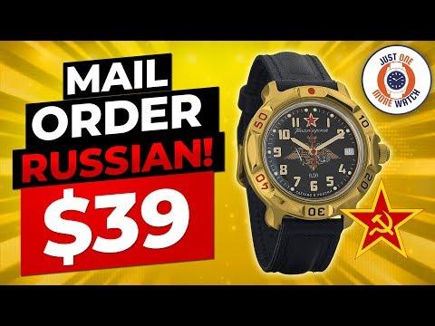 Mail Order Russian! The $39 Vostok Komandirskie