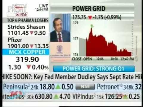POWERGRID Q1 Press & Analyst Meet - NDTV Profit
