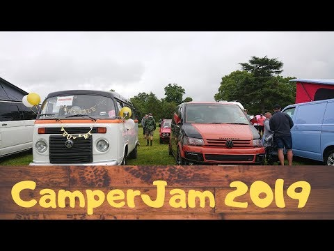 CamperJam 2019 Vw Campervan Bus Festival   off grid camping