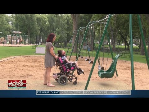 PREVIEW: Working For Wheelchair Accessible Playground Equipment