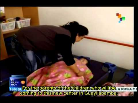 Child-Care Centers in Ecuador to provide help to 100,000 children