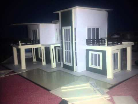 Building a scale model of a house