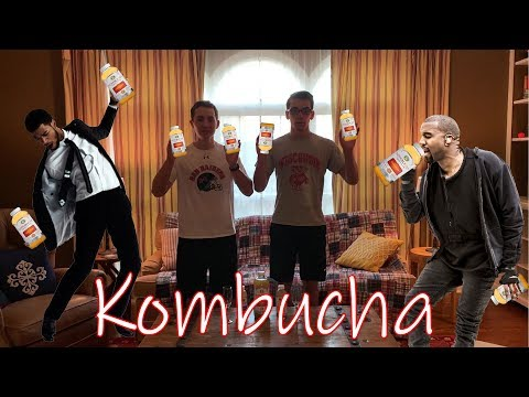 FIRST TIME HAVING KOMBUCHA... (GONE WRONG) (SOCIAL EXPERIMENT)