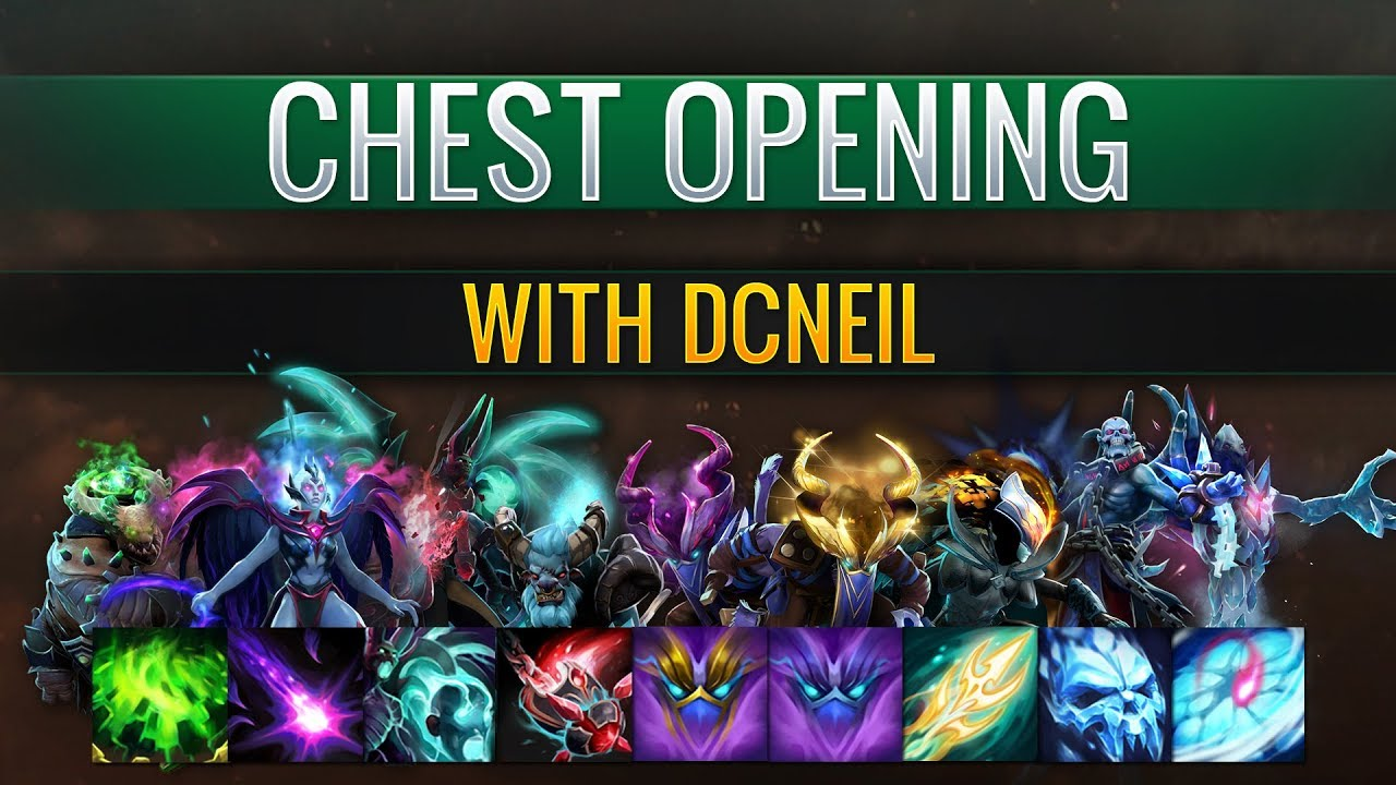 Dota 2 S Immortal Treasure 3 Launches: Immortal Treasure 1 Opening With Neil (x48