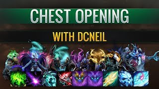 Dota 2 TI8 - Immortal Treasure 1 Opening with Neil (x48 treasures)