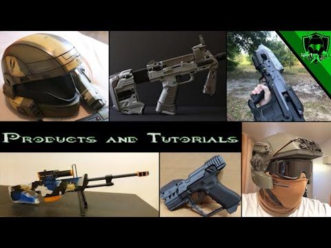 Halo Airsoft Products And Tutorials!