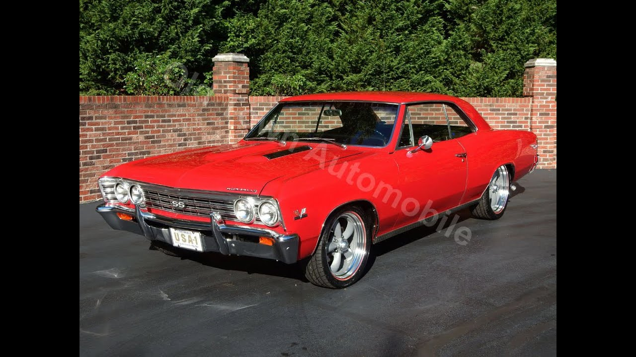 400 Turbo Transmission >> 1967 Chevelle SS red for sale Old Town Automobile in Maryland - YouTube