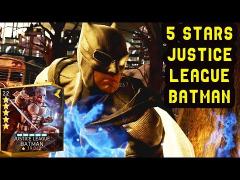 Injustice 2 Mobile. 5-STARS Justice League Batman Review + Gameplay. A bit disappointed…
