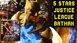 Injustice 2 Mobile. 5-STARS Justice League Batman Review + Gameplay. A bit disappointed...