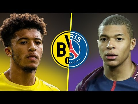 Jadon Sancho VS Kylian Mbappe - Who Is The Best Young Talent? - Amazing Dribbling Skills - 2018