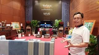 Toàn cảnh Khu trưng bày và trình diễn âm nhạc ThivanLabs - Mavis AVshow Hà Nội 23 - 25/11/2019