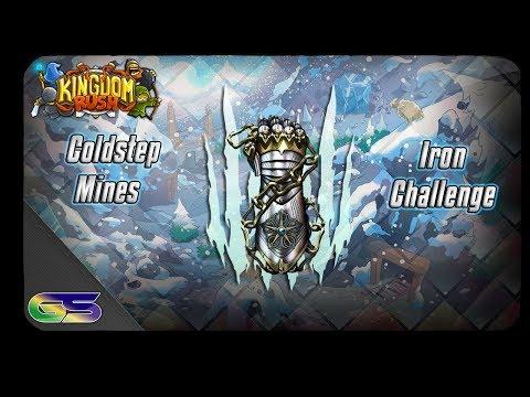 Kingdom Rush Coldstep Mines Iron Challenge