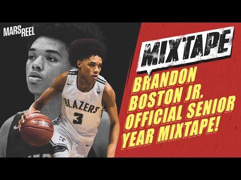 Brandon Boston Jr. OFFICIAL Senior Year Mixtape!