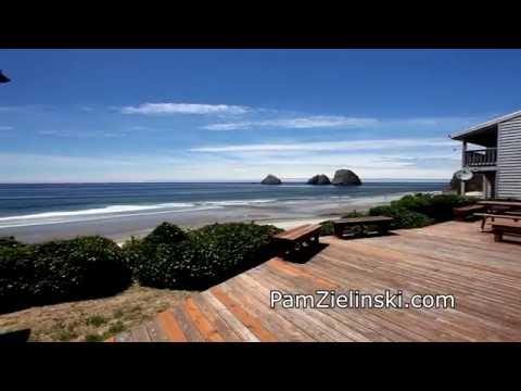 Gorgeous Five Bedroom Oceanfront Home on the Oregon Coast | Oceanside real estate