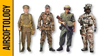 75+ Military Impression Loadouts!!!!! (1900's to 2017) MOA Show   Airsoftology