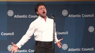 Vittorio Grigolo performance of Nessun Dorma at the Distinguished Leadership Awards