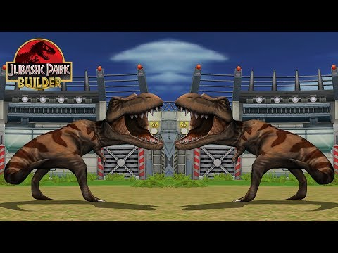The POWER of TYRANNOSAURUS after EVOLVED: Jurassic Park Builder - IOS Gameplay #15