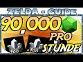 Zelda Breath of the Wild - 1500 RUBINE PRO MINUTE | 90000 PRO STUNDE - DIAMANTEN FARMEN