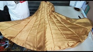 Making Gharara Cutting and Stitching in Professional Style