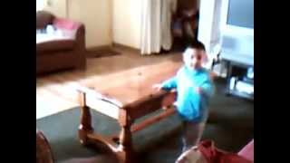 2yr old dancing to Summer