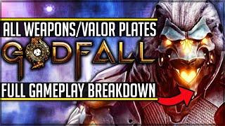 Godfall Combat Explained - Weapon Types, Valorplates and Roles! (New Godfall Gameplay Breakdown)