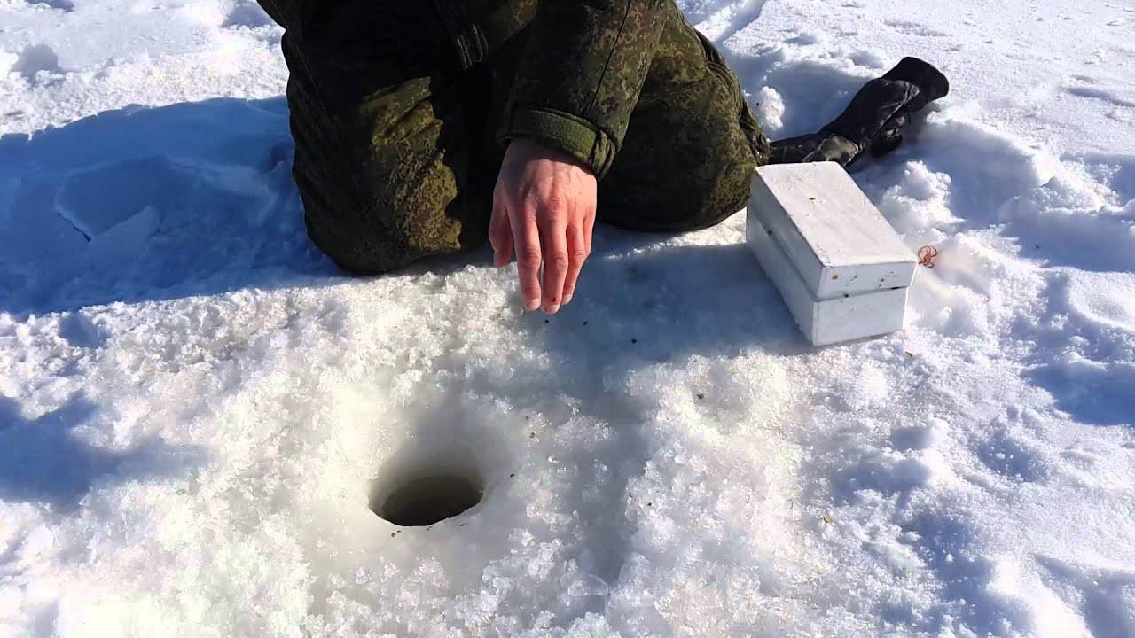 Зимняя рыбалка на Горьком Перешеечном Егорьевском в Руцовске