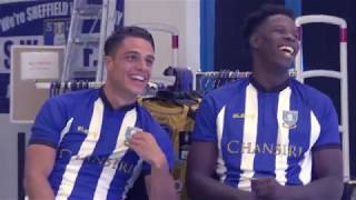 Behind the scenes with the Owls\' 18/19 home kit shoot!
