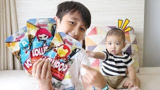 Kakak Adik Rebutan Lollipop Avengers - Drama Anak Lucu