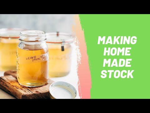 Making Home Made Stock