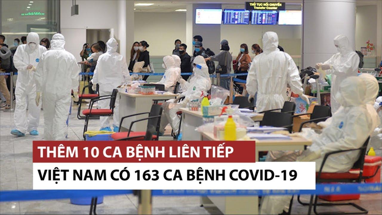 Việt Nam 163 bệnh nhân nhiễm virus corona, 3 ca từ bệnh viện Bạch Mai