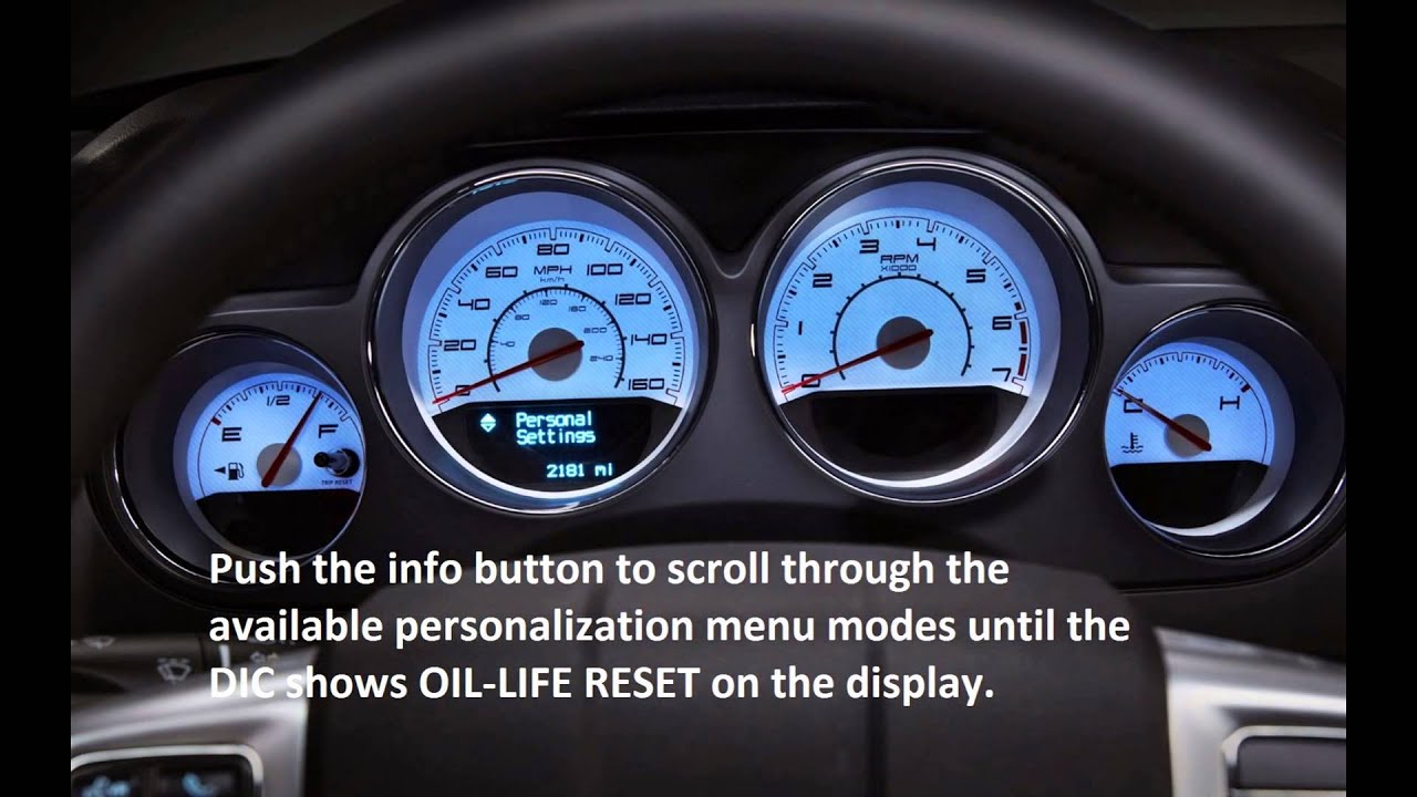 how to reset oil service light pontiac g5 2007 2010 [ 1280 x 720 Pixel ]