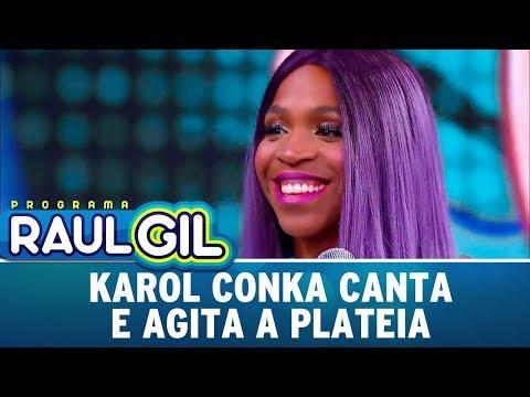 Karol Conka Canta E Agita A Plateia | Programa Raul Gil (02/12/17)
