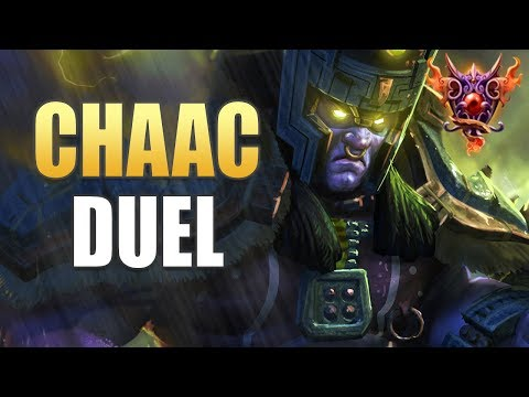 Chaac Duel Gameplay | SMITE Masters Ranked | Making It Rain!