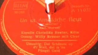 Un et Arnöldche fleut - Willy Breuer - 78 UpM