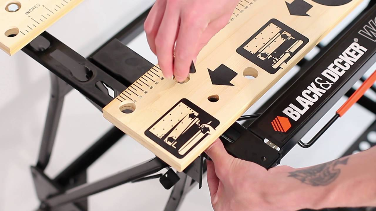 How To Assemble The Black Decker Workmate 174 Pus Work Bench