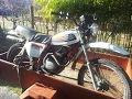 Honda XL125S 1978 in bad condition