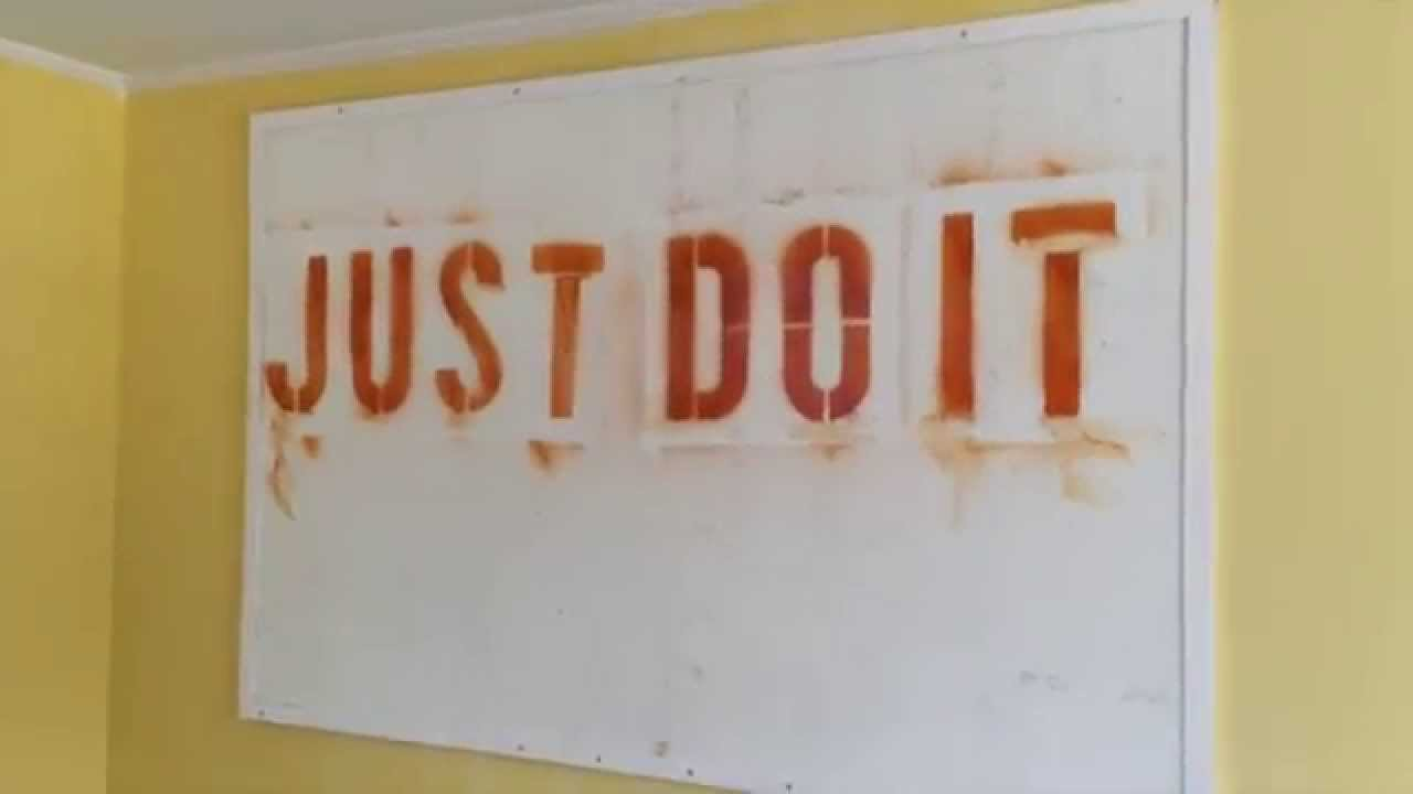 diy wall motivational word wall art youtube