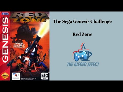 Sega Genesis Challenge - Red Zone