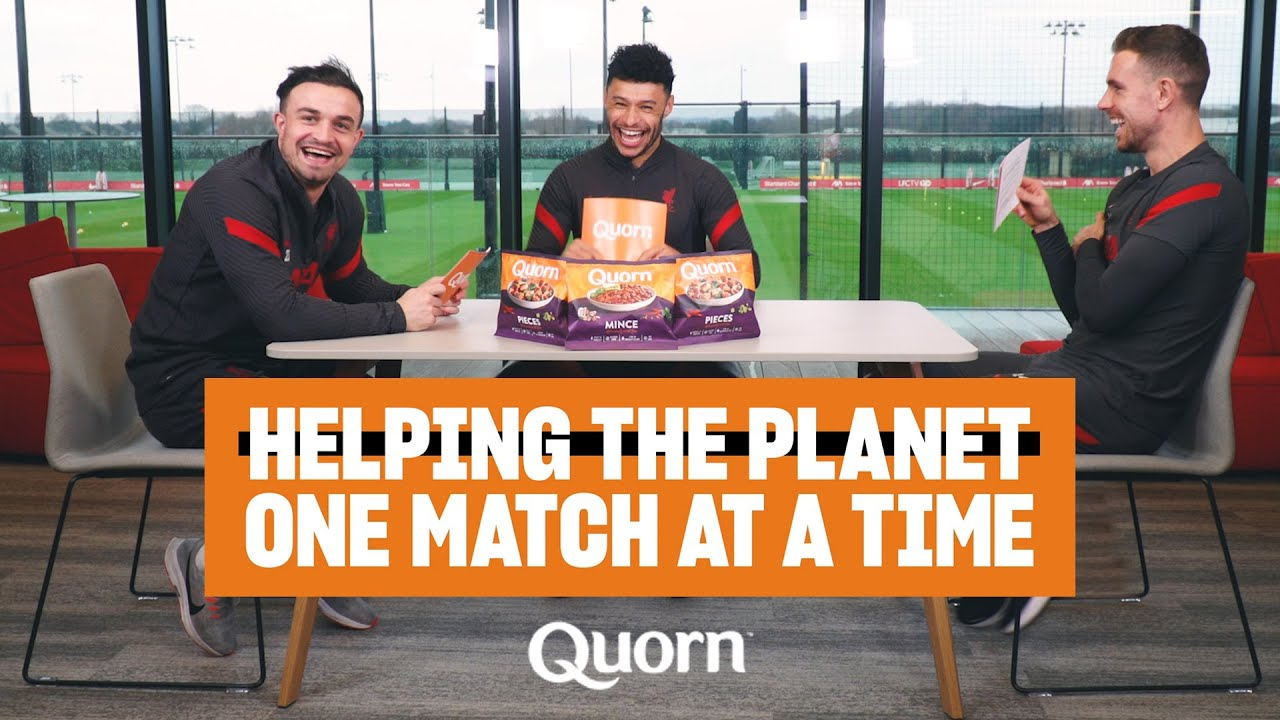 Quorn presents 'Meat Free Matchdays' with Henderson, Shaqiri & Oxlade-Chamberlain